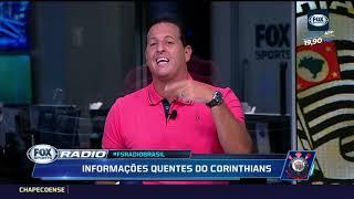 CARILLE PEDIU JOIA DO BRASILEIRÃO PARA O CORINTHIANS