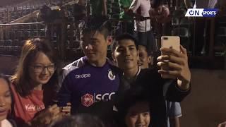 Toàn cảnh Hà Nội ăn mừng chức vô địch V.League 2019 sau khi thắng SLNA