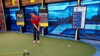 The Golf Fix: Paint Drill to Improve Putting Game| Golf Channel