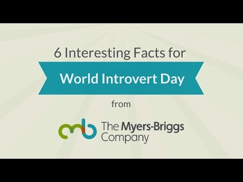 World Introvert Day (January 2) celebrates those who get their energy from their inner world of thoughts and feelings and quiet reflection rather than by being around large groups. Although half of the world's population prefers Introversion, it's only been in the last few decades that this group has received their share of the spotlight. In honor of those who prefer Introversion, The Myers-Briggs Company shares six surprising statistics about these reflective types.