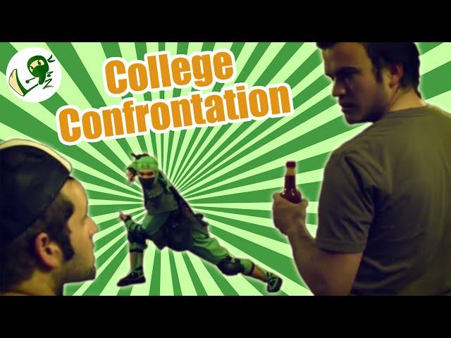 College Confrontation: A Carbon Footprint Showdown - Green NInja Show