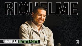 EN VIVO, Juan Román Riquelme en TNT Sports