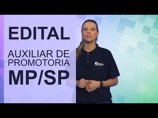 [Auxiliar de Promotoria III - MP/SP]