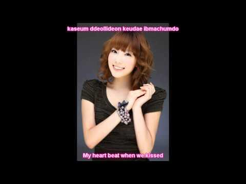SNSD Taeyeon - I Love You OST (roman & eng sub)