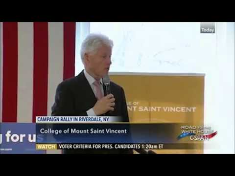 Former President Clinton mentions Berea College in Ky. as a model institution