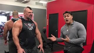 Biceps by Gustavo Badell   -   IRON RELIGION GYM / Orlando FL