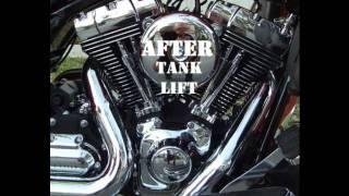 Tank Lift for Harley Touring Motorcycles by DK Custom