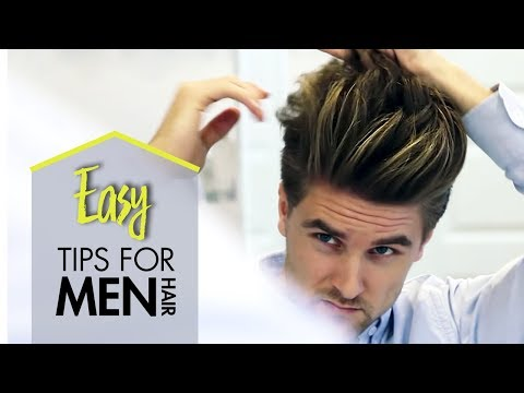 Men's Hair Styling Tips | 5 Min Hair Guide For Mens Look