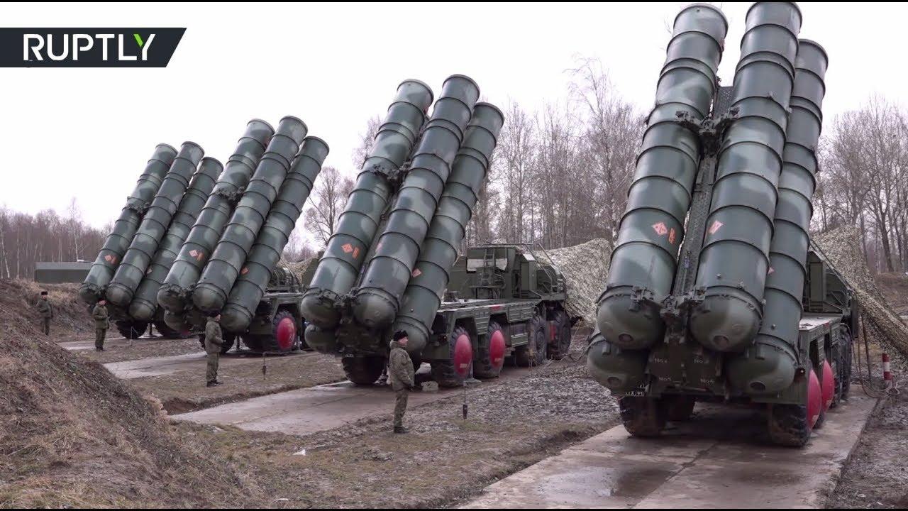 С-400 «Триумф» развернули в Калининградской области