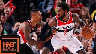 Washington Wizards vs Portland Trail Blazers Full Game Highlights | 10.22.2018, NBA Season