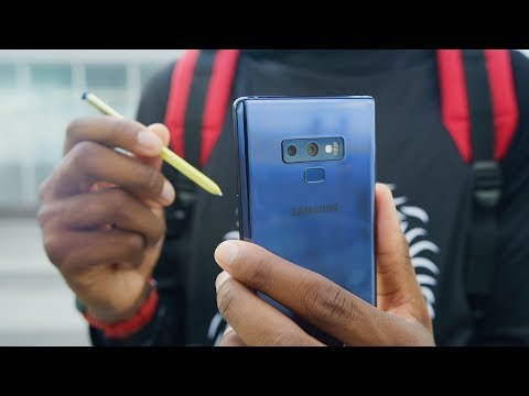 video Samsung Galaxy Note 9