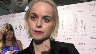 Taryn Manning Is Nothing Like Her 'Orange Is the New Black' Character | 2015 Comic Con | toofab
