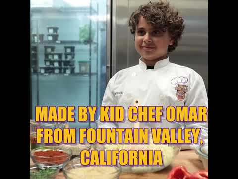 2018 Kids Cook-off Champion Omar!
