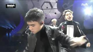 MAMA2015 - EXO Call Me Baby + Lightsaber YouTube 影片