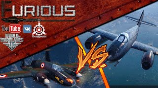 Превью: И-260 vs NC.1070 / World of Warplanes /