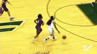 USF Women's Basketball: Postgame Highlight (Albany)