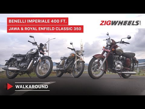 Benelli Imperiale 400 Ft. Jawa & Royal Enfield Classic 350 & Walkaround Review