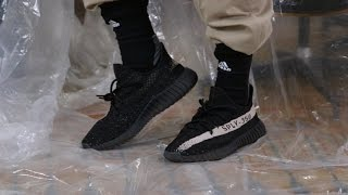 adidas Yeezy Boost 350 V2 Black/White Review + On Feet