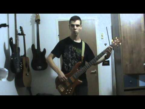 Mudvayne- A New Game- Bass cover