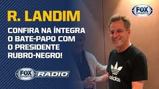 JESUS, GAROTOS DO NINHO E ESTÁDIO PRÓPRIO! R. Landim, presidente do Flamengo (Entrevista Completa)