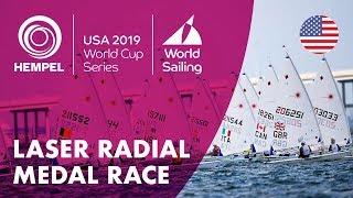 Laser Radial Medal Race | Hempel World Cup Series: Miami, USA