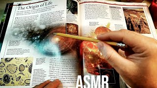The Origin of Life on Earth (Whisper Only, Book) | Science ASMR