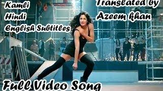 Kamli Hindi English Subtitles Full Song Dhoom 3 Exclusive