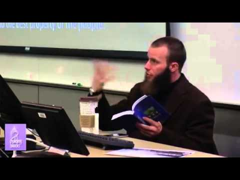 Dawah Training by Yusha Evans - Part 4