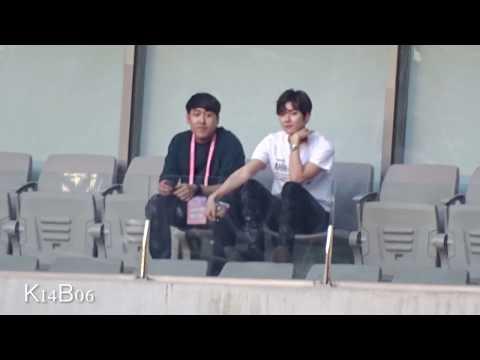 170603 엑소(EXO) 백현 Baekhyun Reaction to CLC [Dream Concert 2017 / 드림콘서트 2017]