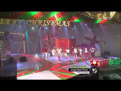 KARA & SHINee - Silent night Holy night, Jingle Bell Rock, 카라 & 샤이니