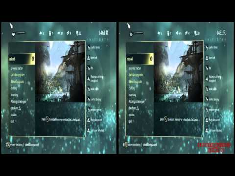 YT3D - Assassins Creed IV 3D: Black Flag Very High Settings S6M3 Walkthrough Live Stream Part 12