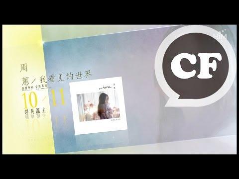 周蕙[我看見的世界] 10月11 經典誕生 、1月12[第一次約定]台北演唱會 購票請洽華娛售票