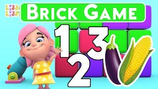 Numbers For Kids | Learn numbers | vegetables for kids | Game for kids