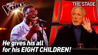Roger Samuels sings 'Footprints in the Sand' by Leona Lewis  | The Voice Stage #13