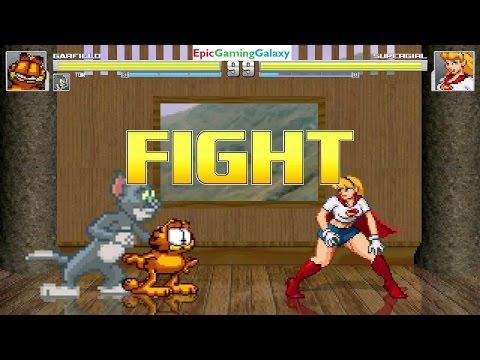 Garfield Vs. Tom - Duelo De Campeões #2