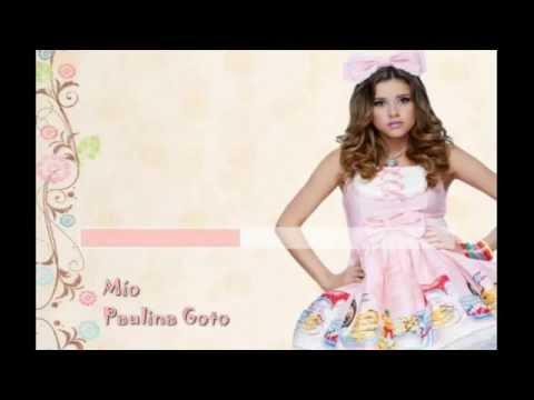 Paulina Goto - Mío (Karaoke)
