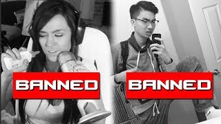 10 BANNED Twitch Streamers Who Took It WAY Too Far | Chaos