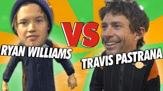 DEFI KARTING : TRAVIS PASTRANA vs RYAN WILLIAMS !