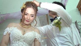 Đám cưới Cô dâu hot girl đẹp chẳng kém gì diễn viên