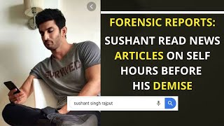 Sushant Singh Rajput GOOGLED his name, read articles on se..