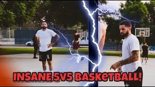 THEY COULDN'T STOP US! Insane 5v5 Basketball At The Park!