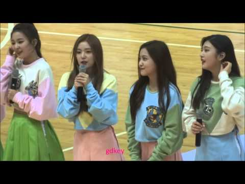 150718 Red Velvet Ice Cream Cake+Ment+Happiness (Hope Basketball All Star 2015 with SMTOWN)