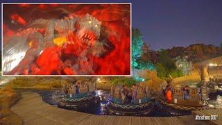 [4K] Insane Animatronic in Shanghai Disneyland River Rapids Ride - Disney Water Ride