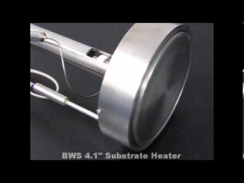 Blue Wave Semiconductors 4 Inch Substrate heater with Rotation and Z stage Stage