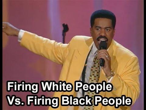 Steve Harvey on Firing White People Vs. Firing Black People