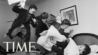 The Pillow Fight: Behind Harry Benson's Photo Of The Beatles  | 100 Photos | TIME
