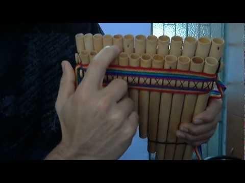 Zambito en zampoña y quena INKAMUSIK - parte 1