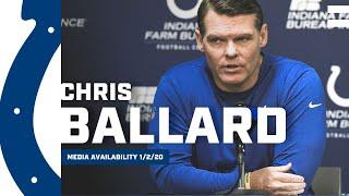 Colts GM Chris Ballard Recaps 2019 Season