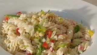 Caribbean Pasta Salad | Recipes By Chef Ricardo