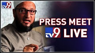 Asaduddin Owaisi Press Meet After Meeting KCR- MIM-TRS all..